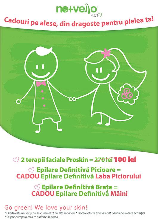 Nomasvello-oferta Tratamentul Pro Skin și LED+Esthetic - Nomasvello