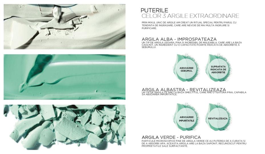 argila-extraordinara-elseve Noua Gamă pentru par gras - Elseve Argilă Extraordinară L`Oreal Paris
