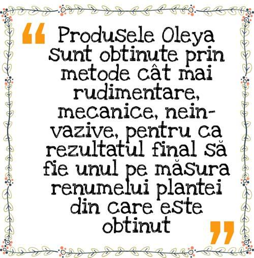 produse-Oleya-vegane-naturale Farmacia - meseria mea, Oleya - visul meu